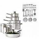 Deals List: Cooks 52-PC. Stainless Steel Cookware Set + $10 JCP Cash