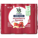 Deals List: V8 Strawberry Banana, 8 oz. Can (4 packs of 6, Total of 24)