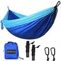 Deals List:  SHINE HAI Double Camping Hammock Portable Parachute