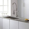 Deals List: Kraus KPF-1602SS Single Handle Pull Down Kitchen Faucet Commercial Style Pre-rinse, Stainless Steel