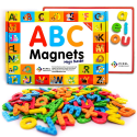Deals List: Pixel Premium ABC Magnets for Kids Gift Set - 142 Magnetic Letters for Fridge, Dry Erase Magnetic Board and FREE e-Book with 40+ Learning & Spelling Games - Best Alphabet Magnets for Refrigerator Fun!