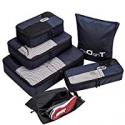 Deals List: TripDock Various Packing Cubes 6 Set Lightweight Travel Luggage Organizers