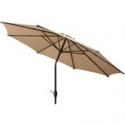 Deals List: Mainstays 9 ft. Outdoor Market Umbrella Tan