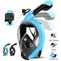 Deals List: HENGBIRD Snorkel Mask with Detachable Camera Mount