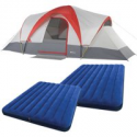 Deals List: Ozark Trail Weatherbuster 9 Person Dome Tent w/Two Queen Airbeds