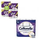 Deals List: 36-Ct Cottonelle Ultra Toilet Paper + 24 VIVA Paper Towels