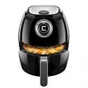Deals List: Chefman 3.5 Liter/3.6 Quart Air Fryer with Space Saving Flat Basket Oil Free Airfryer w/Dishwasher Safe Parts, 30 Minute Timer and Auto Shut Off, Large, Black