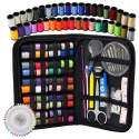 Deals List: Sewing Kit - DIY Premium Sewing Supplies, Zipper Portable & Mini Sew Kits for Traveler, Adults, Beginner, Emergency - Filled with Mending and Sewing Needles, Scissors, Thimble, Thread,Tape Measure etc