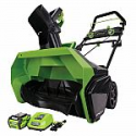 """Deals List: GreenWorks G-MAX 40V 20"""" Cordless Snow Blower with Battery and Charger"""
