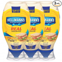 Deals List: Hellmann's Real Mayonnaise, Squeeze 20 oz, 3 count
