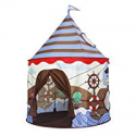Deals List: Homfu Play Tent for Kids Castle Playhouse for Children Boys Viking Pattern Popup Tent