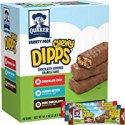 Deals List: Quaker Chewy Dipps Chocolate Covered Granola Bars Variety Pack, 48 Count, 51.8 oz