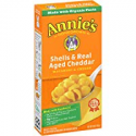 Deals List: Annie's Macaroni and Cheese, Shells & Aged Cheddar Mac and Cheese, 6 oz Box (Pack of 12)