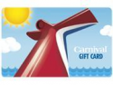 Deals List: $200 Carnival Cruise Gift Card Email Delivery