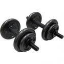 Deals List: Gold's Gym Adjustable Cast Dumbbell Set, 40 lbs