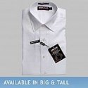 Deals List: Kirkland Signature Tailored Fit Spread Collar White Shirt