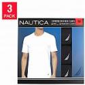 Deals List:  Nautica Men's Stretch Crew Tee 3-pack