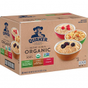 Deals List: Quaker Organic Instant Oatmeal, Variety Pack, 32 Count