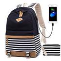 Deals List: Peonys Canvas USB Backpack