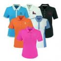Deals List: Adidas Womens Logo Overrun Polo Shirt
