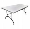 Deals List: 6-Ft Plastic Dev Group Folding Banquet Table