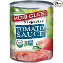 Deals List: Muir Glen Organic Tomato Sauce, No Sugar Added, 8 Ounce Can (Pack of 24)