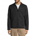 Deals List: Dockers Men's Lightweight Fleece Jacket (black heather)
