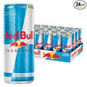 Deals List: Red Bull Energy Drink Sugar Free 24 Pack of 8.4 Fl Oz, Sugarfree (6 Packs of 4)