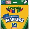 Deals List: Crayola Classic Markers Broad Line 10/Box