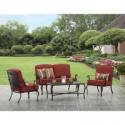 Deals List: Better Homes and Garden Dawn Hill 4 Piece Outdoor Conversation Set