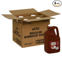 Deals List: Barbecue Sauce Regular, 128-Ounce (Pack of 4)