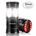 Deals List: Snorda 2 Pack LED Camping Lantern SOS LED Flashlight