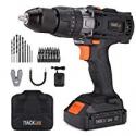 Deals List: Tacklife PCD04B 20V MAX 1/2-in Cordless Drill Driver Set