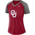 Deals List: Nike Womens University of Oklahoma Fan V-neck Top