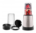 Deals List: Chefman Ultimate Personal Smoothie Blender, Single Serve, Stainless Steel Blending Blade, 2 Travel Cups with Lids, Solid Storage Cover and Comfort Drinking Rim, 6 Piece - RJ28-6-SS-Black