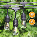Deals List: 2-Pack 48Ft Heavy Duty Outdoor Patio String lights