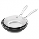 Deals List: KitchenAid Stainless Steel 8-in and 10-in Skillets Twin Pack