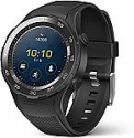 Deals List: Huawei 4GB Leo-B09 B Watch 2 Sport Smartwatch - Ceramic Bezel and Black Carbon Strap - Includes Huawei US and European Wall Adapters