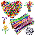 Deals List: 500 Pcs Pipe Cleaners Set Craft Supplies