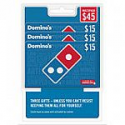 Deals List: 3 Pack $15 Domino's Pizza Gift Card