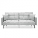 Deals List: Best Choice Products Living Room Linen Fabric Couch Furniture