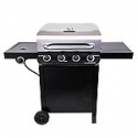 Deals List: Char-Broil Performance Black And Stainless Steel 4-Burner Liquid Propane Gas Grill with 1 Side Burner