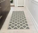"""Deals List: Ottomanson Paterson Collection Contemporary Moroccan Trellis Design Lattice Area Rug, 5'3"""" x7'0, Grey"""