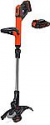 Deals List: Black+Decker LSTE525 20V MAX Lithium Easy Feed String Trimmer/Edger with 2 Batteries