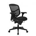Deals List: WorkPro® Quantum 9000 Series Ergonomic Mid-Back Mesh/Fabric Chair, Black