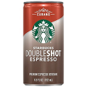 Deals List: Starbucks Doubleshot Espresso, Cubano, 12 Count, 6.5 fl oz Cans