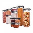 Deals List: Rubbermaid Brilliance Pantry Airtight Food Storage Container, BPA-free Plastic, 10-Piece set with Lids