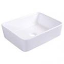 Deals List: Bathroom Rectangle Ceramic Vessel Sink