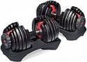 Deals List: Bowflex SelectTech 552 Dumbbells with Workout DVD