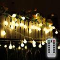 Deals List: Tomshine 32.8ft 80 LED Battery Operated Globe String Lights